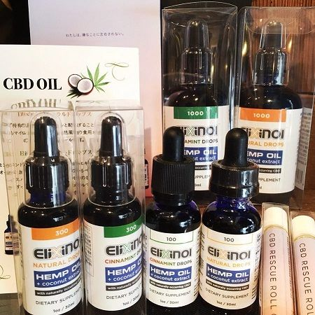 Elixinol CBD Hemp Oil Products