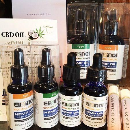 Elixinol CBD Hemp Oil Products