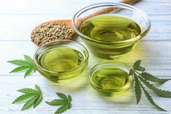 Hemp Oil For Food