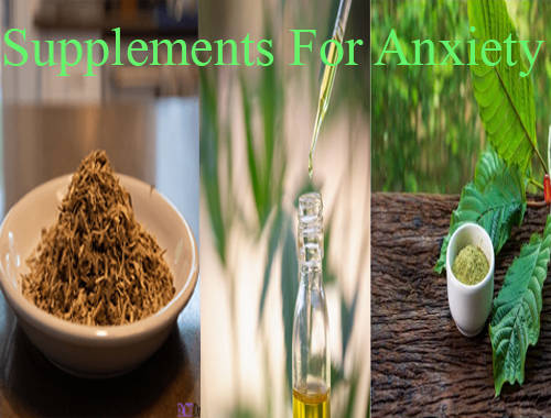 3 Supplements For Anxiety