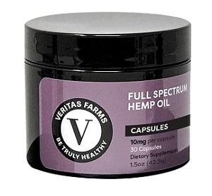 Veritas Farms cbd capsules 10mg