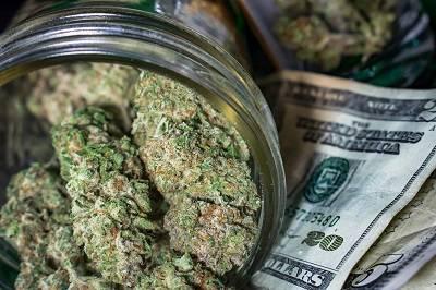 selling weed
