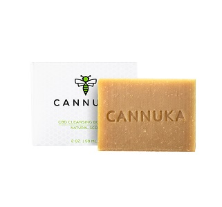 Cannuka CBD Cleansing Body Bar For Dry Skin