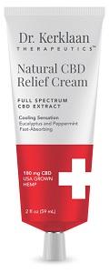 Dr Kerklaan Therapeutics Natural CBD Pain Cream