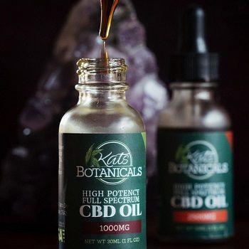 Kats botanicals  CBD oil tinctures