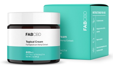 pain cream by FABCBD
