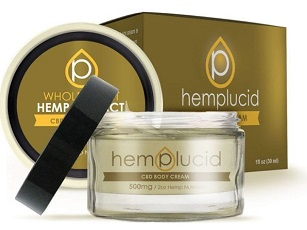 Hemplucid CBD Lotion