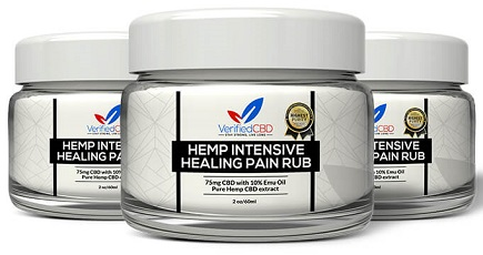 Verified CBD Healing Pain Rub