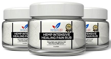 Verified CBD Healing Pain Rub